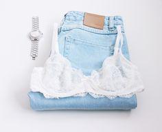 Miłego dnia! <3 Have a nice day! #underwear #bielizna #lingerie #lebaiser #prezent #gift #pomyslnaprezent #stanik #biustonosz #bra #lace #koronka #brassiere #jeans #perfectsaturday #saturdaymorning #set #lacebra