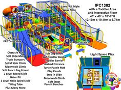 Commercial indoor Playground Equipment Manufacturer| FEC Designs by International Play Company - #WeBuldFun #ForAllAges - Interactive Indoor Playground Equipment and Structures