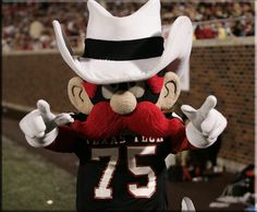 The Masked Rider- Texas Tech University