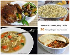 Parade's Community Table ~ 20 Homey Comfort Food Favorites