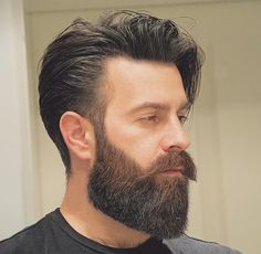 Five Top Short Mens Hairstyles For 2018 Beard Styles For Men, Hair And Beard Styles, Curly Hair Styles, Medium Beard Styles, Trendy Mens Hairstyles, Haircuts For Men, Mens Hairstyles With Beard, Great Beards, Awesome Beards