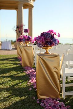 An orchid filled autumn wedding with Middle Eastern traditions at Pelican Hill // photo by Pepper Nix Photography: http://www.peppernix.com    see more on http://www.artfullywed.com