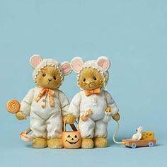 Bears Dressed as Mice
