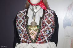 Bilderesultat for bunad bjerkreim Folk Costume, Costumes, Folk Clothing, Beaded Embroidery, Beadwork, Norway, Belts, Textiles, Jewellery