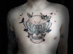 chest-skull-tattoo.jpg (670×503)