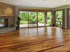 Home Improvement Ideas... Reclaimed wood flooring made from pallets and such