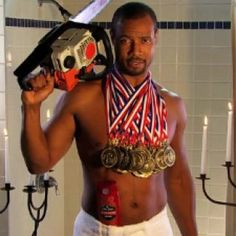 """Ad agency Wieden + Kennedy's """"The Man Your Man Could Smell Like"""" TV spot for Old Spice has won the Emmy for Outstanding Commercial. The spot starred former NFL wide receiver Isa. Business Marketing, Social Media Marketing, La Confidential, Terry Crews, Old Spice, Chuck Norris, Black History Month, Storytelling, Success"""