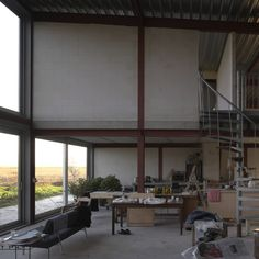 Claus en Kaan - House and studio for Norman Trapman, Nieuwveen 2009