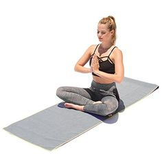 Microfiber Yoga mat Towel 24 in X 72 in by AAA Elite Yoga Slip Resistant Safety Towel for Bikram Ashtanga Hot Yoga Etc Eco Friendly Machine Wash Bonus eBook Helps Cure Back Pain ** Check out the image by visiting the link.