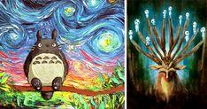 15+ Studio Ghibli Inspired Paintings That Will Spirit You Away   Bored Panda