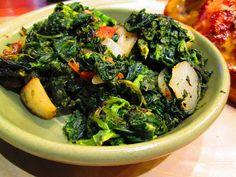 Gotta love spinach dishes.