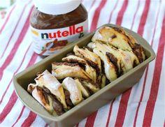 Salted Nutella Pull Apart Bread