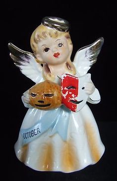 Vintage Japan October Birthday Angel Doll