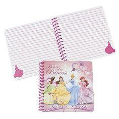"Disney Princess Raised Cover Spiral Notebooks (Set of 5 books) by FE. $11.99. Paper Disney Princess Raised Cover Spiral Notebooks. (5 pcs./unit) 5 1/2"" 50 pgs. © Disney"