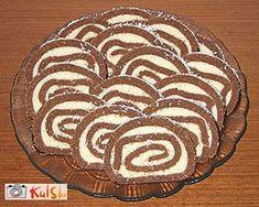 Recept: Črno - bela rolada brez pečenja - Kulinarika.net