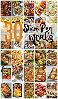 30 Days Of Melt-In-Your-Mouth Sheet Pan Meals - Easy-recipes. Diet Food To Lose Weight, Weight Loss Meals, Sheet Pan Suppers, Recipe Sheets, Pot Pasta, One Pan Meals, One Pan Meal Prep, Simple Meal Prep, Clean Simple Eats