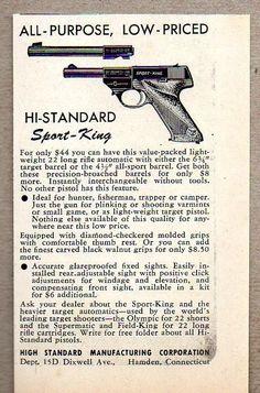 high standard hb serial numbers