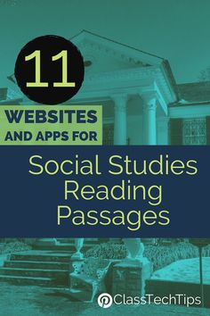 Incorporating social studies reading passages into your instruction can help you address learning goals in both subject areas. Here are my favorites! social study 11 Websites and Apps for Social Studies Reading Passages 7th Grade Social Studies, Social Studies Curriculum, Social Studies Lesson Plans, Social Studies Classroom, Social Studies Activities, Teaching Social Studies, History Classroom, Flipped Classroom, Classroom Ideas
