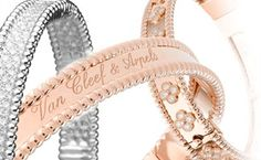 Van Cleef & Arpels Perlée Collection Bracelets