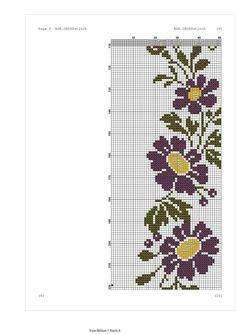 Diy And Crafts, Arts And Crafts, Cross Stitch Flowers, Embroidery Stitches, Stitch Patterns, Projects To Try, Cross Stitch Borders, Cross Stitch Rose, Cross Stitch Patterns