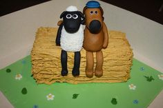 Shaun The Sheep Cake  Flickr Photo Sharing cakepins.com