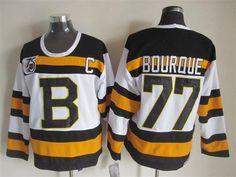 NHL Jersey Boston Bruins #77 bourque white Jersey
