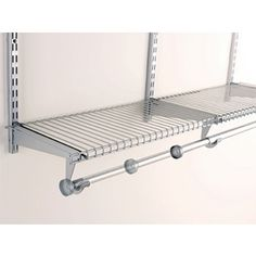 Rubbermaid Homefree 4 Ft Adjule Mount Wire Shelving Kits Wonder If I Can