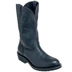 Durango Boots FR100 Mens 12 Inch Lug Sole Western Cowboy Boots