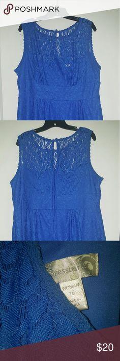 Lace dress dressbarn keyhole