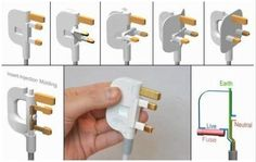 Ultra-thin folding power plug design