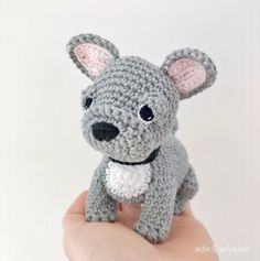 Made to Order FRENCH BULLDOG crochet amigurumi French Bulldog Full Grown, French Bulldog Gifts, French Bulldogs, Dog Lover Gifts, Dog Lovers, Bull Terrier Puppy, Jack Russell Terrier, Bulldog Puppies, Doge