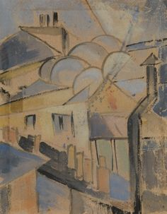 VASSILIEFF, MARIE (1884-1957) Roofs of Paris
