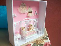 ! ♥ Küçük Şeyler - Minyatür, Hobi ♥ !: Kız bebek duvar ( kapı ) süsü ........