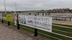 Banners everywhere! Look out for our magnificent banners for our annual Worthing Artists Open Houses