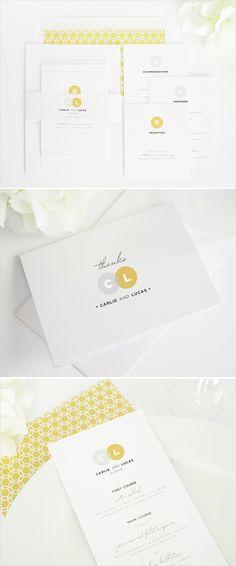 Circle couple wedding invitations. http://www.shineweddinginvitations.com/wedding-invitations/circle-couple-wedding-invitations