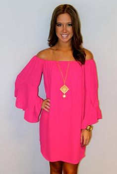 gigi's Boutique | Women's Clothing & Accessories Shop in Crossville TennesseeHot Pink Paradise Dress