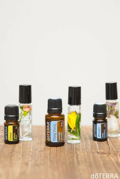 Make your own DIY Perfume Rollers with your favorite flowers and oils!