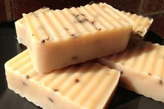 Lavender Peppermint Goat Milk Soap -- AMAZING for the skin, smells fantastic, creamy soap with great lather.  Great for gifts, great for yourself! Repin!!