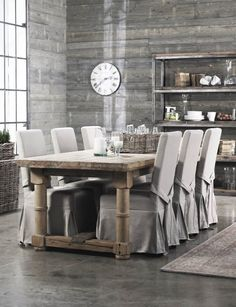 Dining Chairs Covers Ideas Rustic Dining Table Fabric Covers