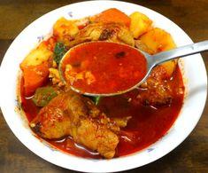 알토란 보고 배운 명품 닭볶음탕 만드는 방법 Korean Dishes, Korean Food, Asian Recipes, Ethnic Recipes, Food Menu, Recipe Collection, Fried Chicken, Thai Red Curry, Meal Planning