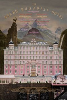 Wes Anderson's 'Grand Budapest Hotel' Poster