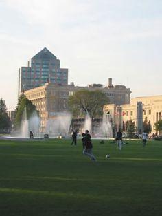 Memorial Park, Winnipeg.