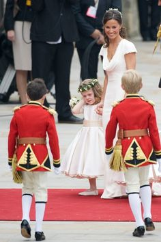 Pippa Middleton and Prince Harry at Royal Wedding - Click image to find more Celebrities Pinterest pins