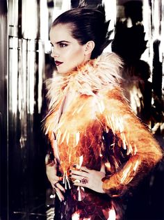 Эмма Уотсон / Emma Watson by Mario Testino in Vogue US july 2011