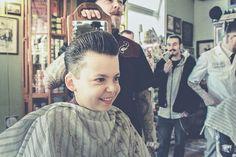 Pompadour Haircut with Reuzel Pomade!!!