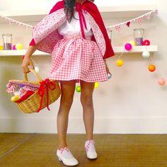 BelandSoph.com   Red Riding Hood Costume for kids. Fancy dress for girls. Deguisement fille
