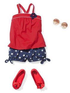 Baby Clothing: Toddler Girl Clothing: Americana | Gap