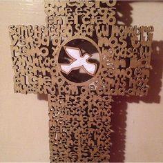 Cruz con oración