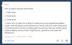 Because sometimes you wanna reminisce about books that were meaningful to you.   27 Reasons Literary Nerds Will Love Tumblr