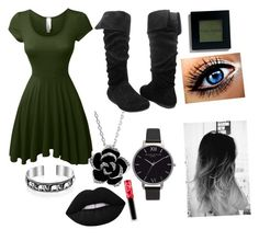 """""""Untitled #47"""" by shiyfashionista on Polyvore featuring Bling Jewelry, Olivia Burton, Bobbi Brown Cosmetics and Lime Crime"""